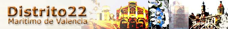 Página principal del distrito22 del Maritimo de Valencia